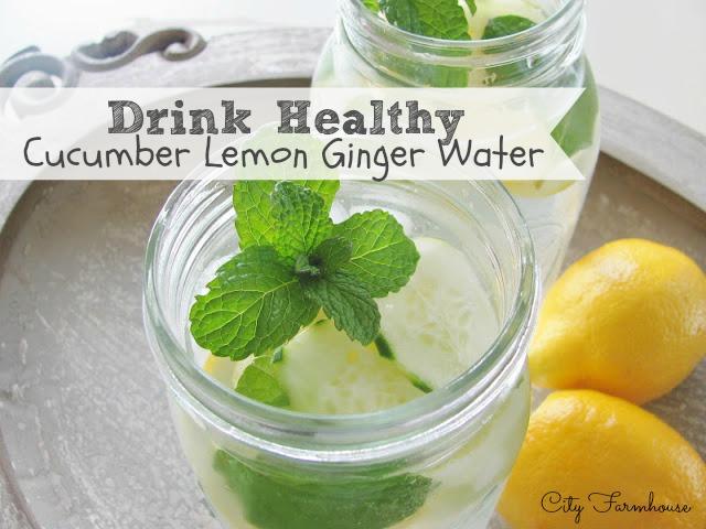 Cucumber-Lemon-Ginger-Water
