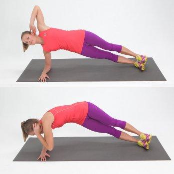 Side-Elbow-Plank-Twist
