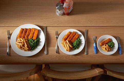 Kết quả hình ảnh cho Take Small Portions of Meals