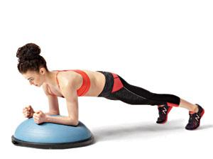 Forearm-plank-bosu