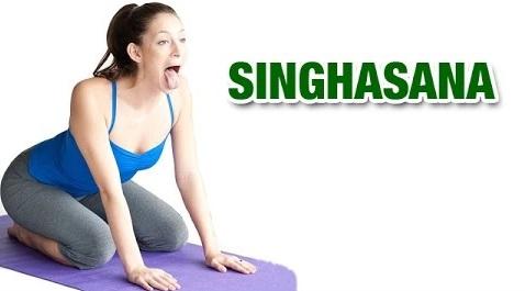 Jaw Release-singhasana