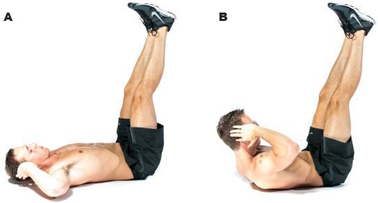 Vertical Leg Crunch