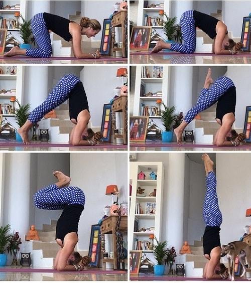 bound-headstand