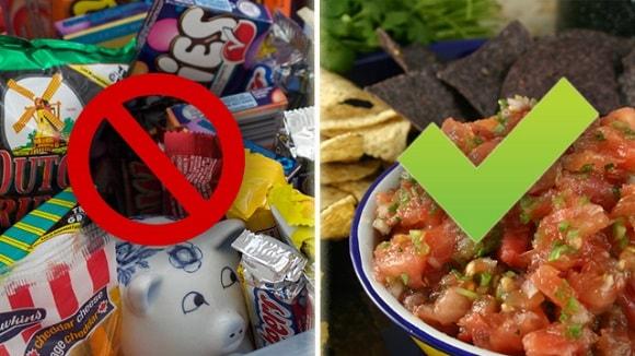 cut-junk-food