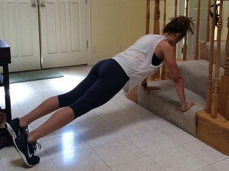stair-pushups