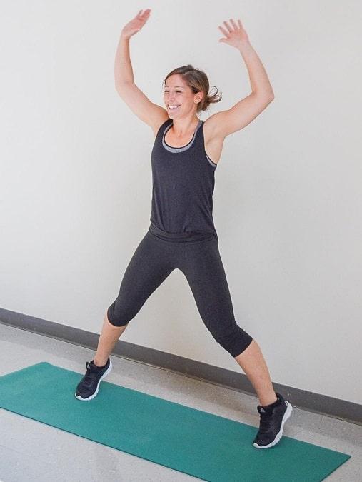 20 دقيقة تدريبات بوزن الجسم للتخسيس الوزن