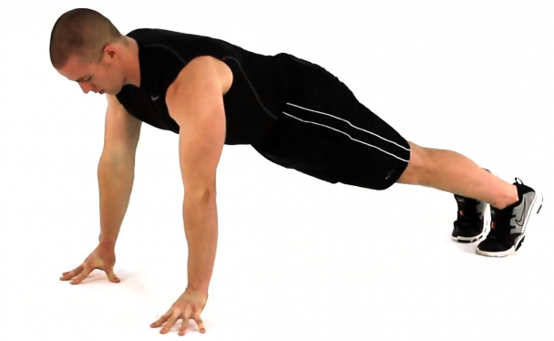 Fingertip push-up