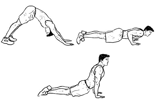 Hindi push-up
