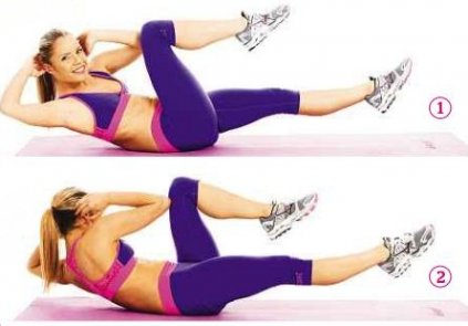 Twist Exercises for ABS