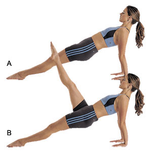 reverse-plank-with-leg-lift