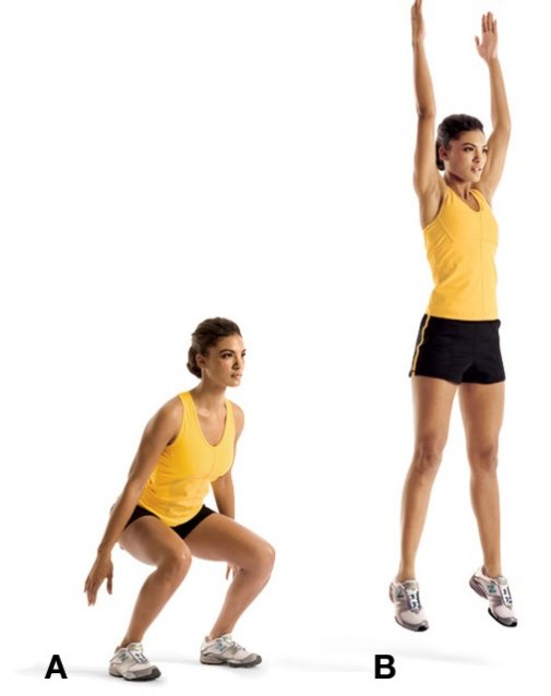 squat-jumps