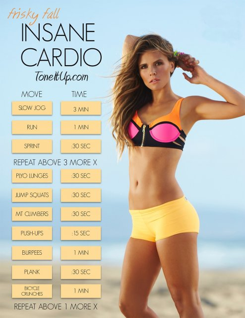 Bump Up Your Cardio