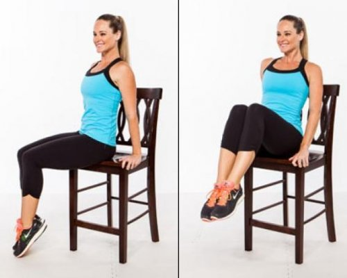 chair knee lifts
