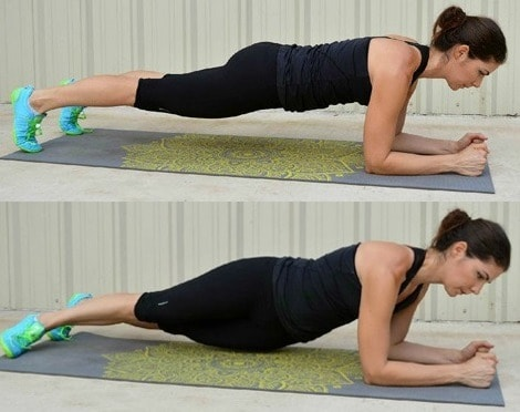 Elbow Plank Hip Rainbow