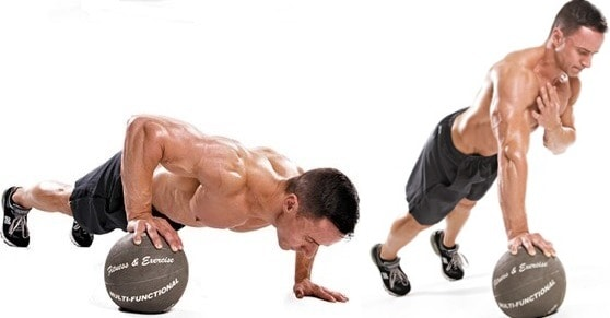 Lock-off-pushup