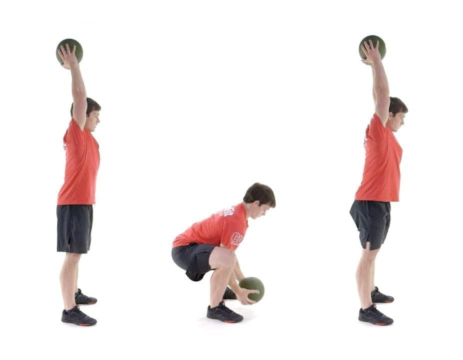 ball slam exercise