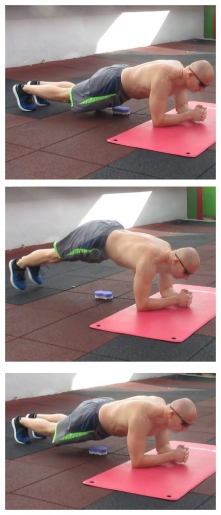 Side-to-Side Plank Hop Plyo Exercise