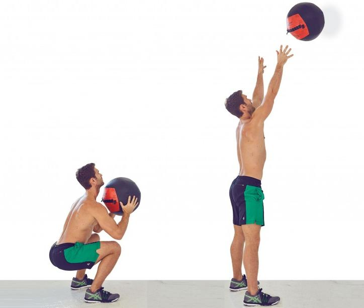 The Wall-Ball Shot Exercise