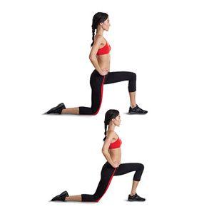 The Kneeling Quad Stretch how to do